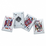 Madelaine Chocolate Mint Truffles Playing Cards, (10 Pounds)
