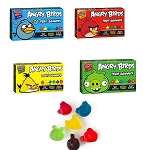 Angry Birds Gummy Fruit Snacks Movie Size Boxes, (Pack of 12)