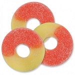 Albanese Gummy Peach Rings, 4.5 Pounds