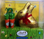 Lindt Bunnies and Friends Milk Chocolate Foil Wrapped Bunny (7 Ounces)