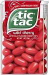 Tics Tacs Wild Cherry, (Pack of 12)