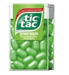 Tics Tacs Green Apple, (Pack of 12)