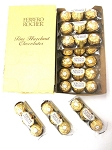 Ferrero Rocher Candy, 3-Piece Packs (Pack of 12)