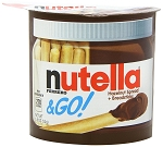 Nutella and Go Hazelnut Spread, (Pack of 12)
