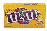 M & M Peanut Movie Theater Size Candy, (Pack of 12)