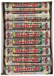 Mega Smarties Candy Rolls, (Pack of 24)
