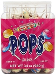 Wrapped Double Lollies, (120 Pack)