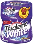 Trident White Cool Rush Gum Bottles (Pack of 4)
