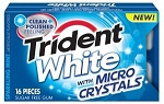 Trident White Sparkling Mint Gum (Pack of 9)