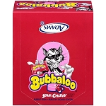 Bubbaloo Sour Cherry, (60 Piece Pack)