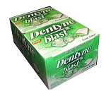 Dentyne Blast Cool Lime Gum, (Pack of 10)