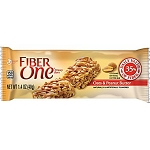 Fiber One Oats and Peanut Butter Bars, (Pack of 16)