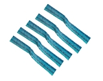 Sour Power Bulk Loose Blue Raspberry Candy Belts, (19.8 Pounds)