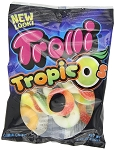 Trolli Gummy Tropic O's, 4.25 Ounce Bags, (Pack of 12)