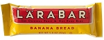 Larabar Banana Bread Fruit and Nut Bars, (Pack of 16)