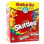 Skittles Grab and Go Fun Size Original Candy, (Pack of 24)