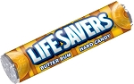Lifesavers Butter Rum Candy Rolls, (Pack of 20)