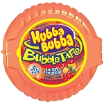 Bubble Tape Tangy Tropic Flavor, (Pack of 12)