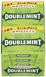 Doublemint Gum Slim Pack, (Pack of 10)
