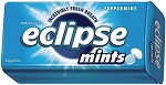 Eclipse Peppermint Mints, (Pack of 8)