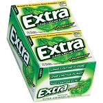 Extra Spearmint Gum Slim Pack, (Pack of 10)