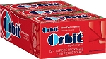 Orbit Strawberry Remix Gum, (Pack of 12)