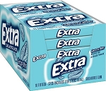 Extra Smooth Mint Gum Slim Pack, (Pack of 10)