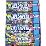 Lifesavers Gummies Collisions Share Size Candy, (Pack of 15)