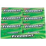 Freedent Peppermint Plen T Pack Gum, (Pack of 12)