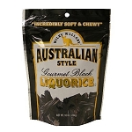 Wiley Wallaby Black Licorice Candy 10 Ounce Bags, (Pack of 10)