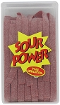 Sour Power Loose Watermelon Candy Belts, (Pack of 150)