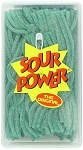Sour Power Loose Green Apple Candy Straws, (Pack of 200)