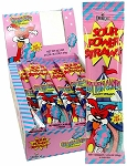 Sour Power Cotton Candy Straws, (Pack of 24)