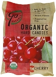 Go Naturally Organic Cherry Gluten Free Hard Candy 3.5 Ounce Bags, (Pack of 6)