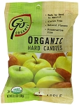 Go Naturally Organic Apple Gluten Free Hard Candy 3.5 Ounce Bags, (Pack of 6)