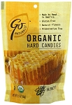 Go Naturally Organic Honey Gluten Free Hard Candy 3.5 Ounce Bags, (Pack of 6)