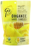 Go Naturally Organic Honey Lemon Gluten Free Hard Candy 3.5 Ounce Bags, (Pack of 6)