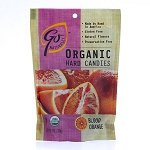 Go Naturally Organic Blood Orange Gluten Free Hard Candy 3.5 Ounce Bags, (Pack of 6)