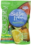 Go Lightly Sugarfree Assorted Hard Candy, 2.75 Ounce Bags, (Pack of 12)
