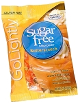 Go Lightly Sugarfree Butterscotch Hard Candy, 2.75 Ounce Bags, (Pack of 12)
