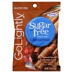 Go Lightly Sugarfree Cinnamon Hard Candy, 2.75 Ounce Bags, (Pack of 12)