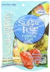 Go Lightly Sugarfree Tropical Candy, 2.75 Ounce Bags, (Pack of 12)