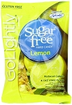 Go Lightly Sugarfree Lemon Hard Candy, 2.75 Ounce Bags, (Pack of 12)