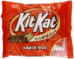 Kit Kat Snack Size Candy Bars, (Pack of 12)