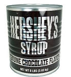 Hersheys Chocolate Syrup, 8 Pounds
