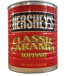 Hersheys Classic Caramel Syrup Topping, 8.5 Pounds