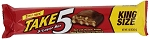 Hershey Take Five King Size Candy Bars, (Pack of 18)
