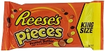 Reeses Pieces King Size Candy Bars, (Pack of 18)