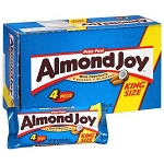 Almond Joy King Size Candy Bars, (Pack of 18)