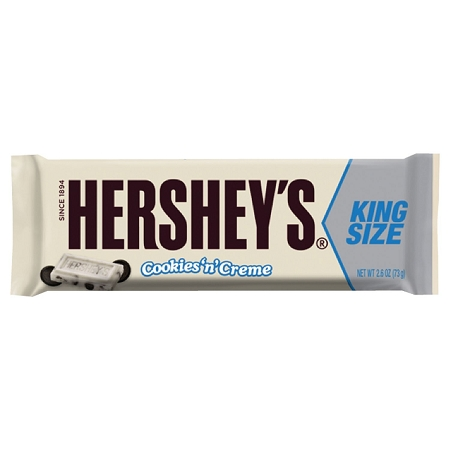 Hersheys Cookies and Cream King Size Candy Bars ...
